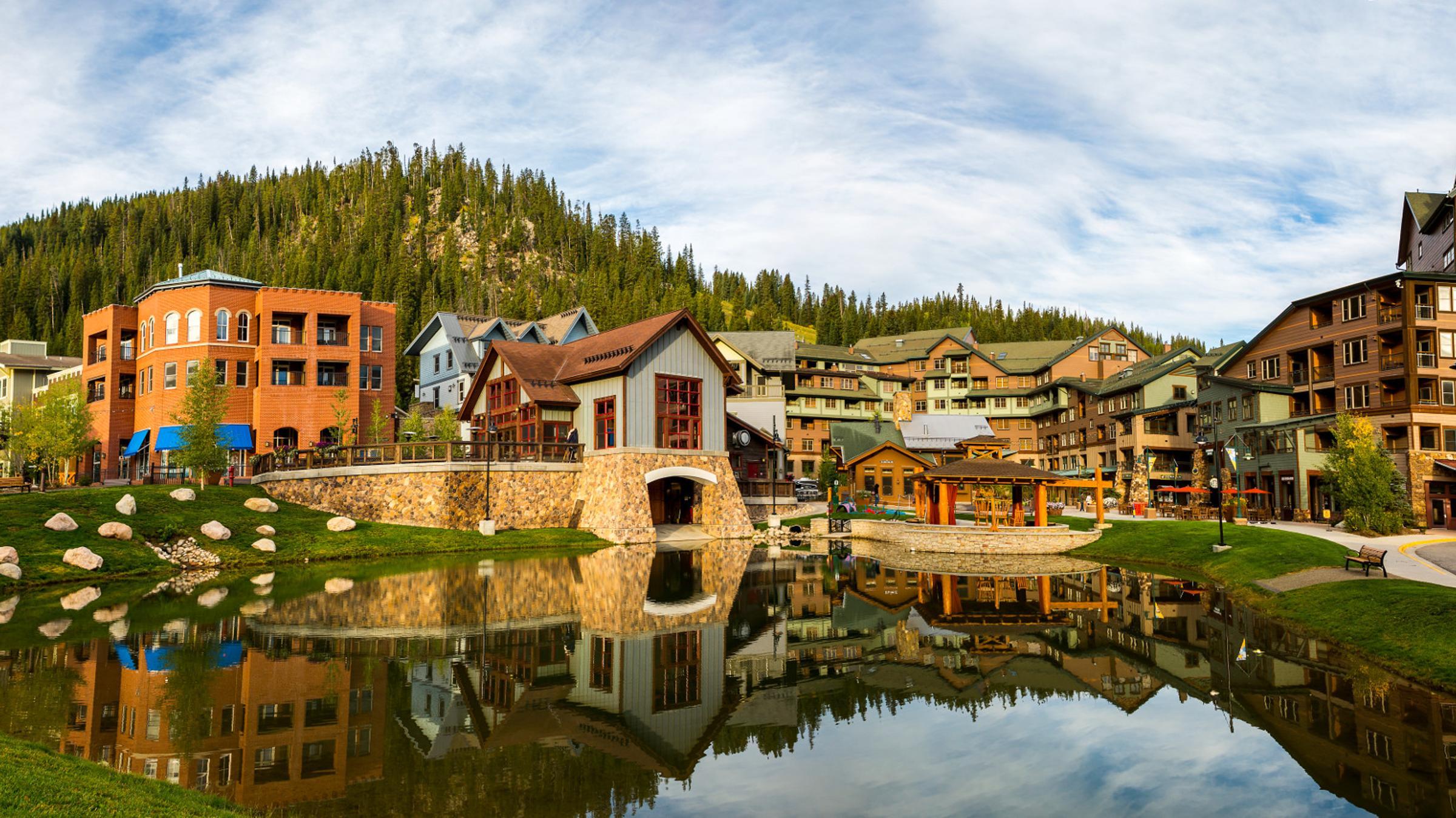 Winter Park Resort Village in Summer