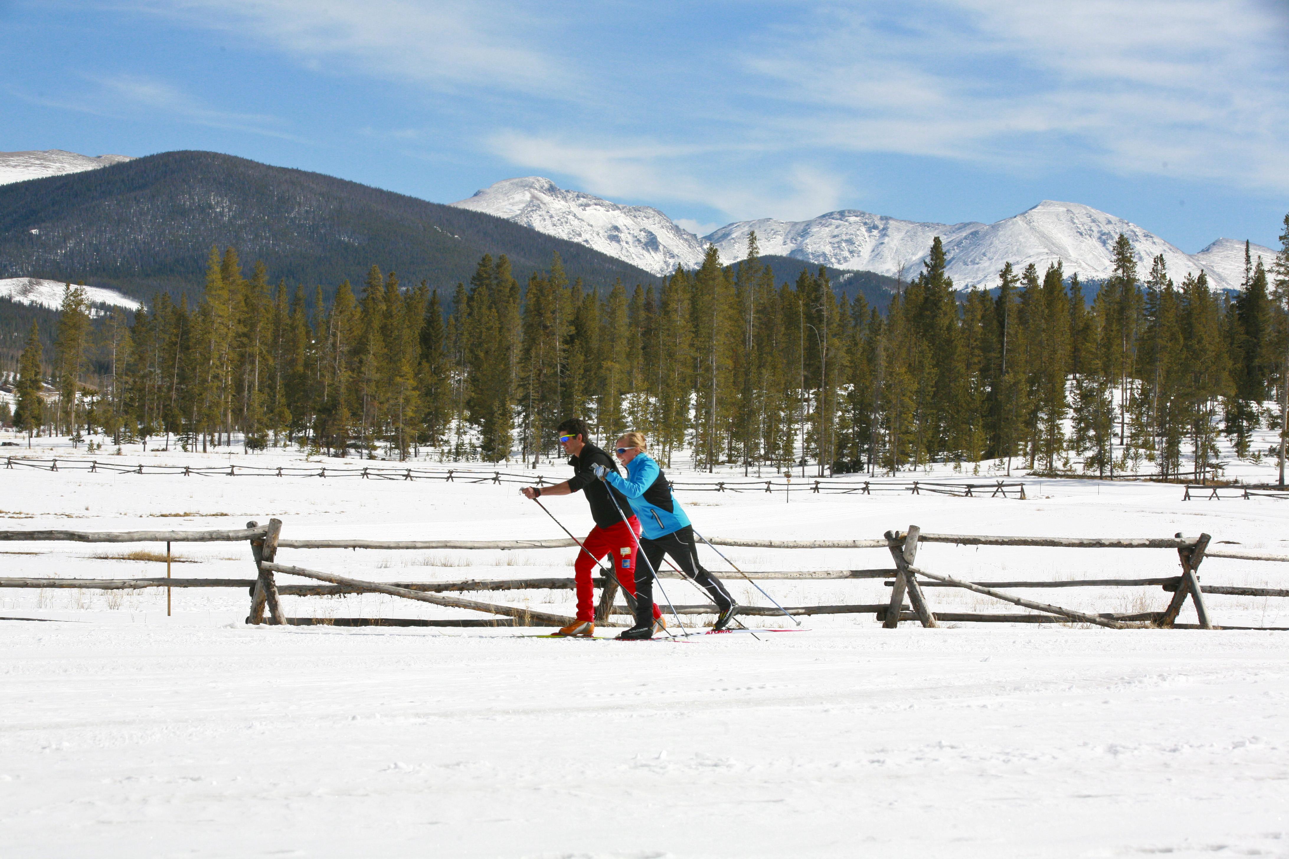 Cross Country Skiing at Devil's Thumb Ranch