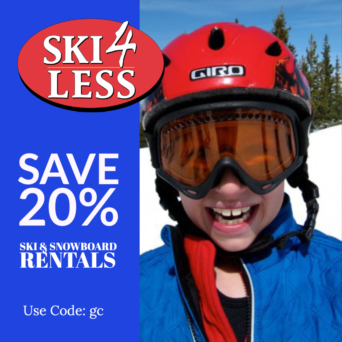 Save 20% Winter Park Ski Rental Ski4Less