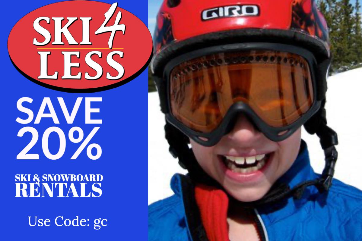 Winter Park Ski Rental Ski4Less Onsite Winter Park Mountain Lodge